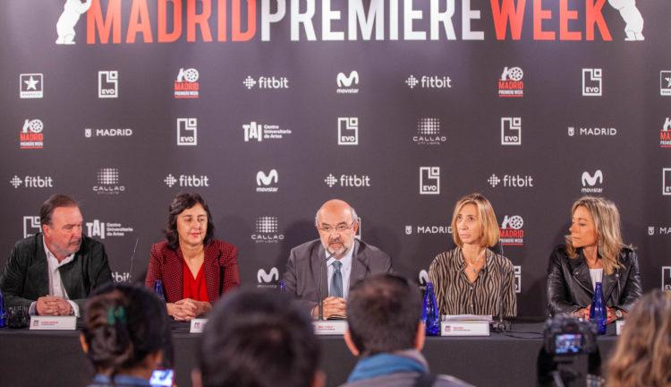Rueda de prensa de presentación. VIII EDICIÓN MADRID PREMIERE WEEK